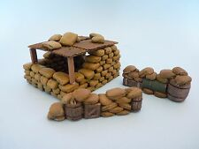 """Échelle 1/35 vietnam la base """"alpha"""" - résine et en céramique diorama set"""