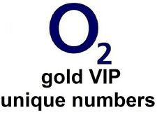 gold vip easy to remember unique numbers on O2 network