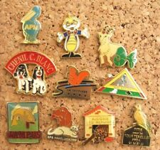 LOT 10 PIN'S thème ANIMAUX / ANIMAL PINS PIN   P15