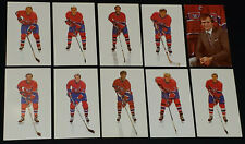 1986-1987 - MONTREAL CANADIENS - NHL - HOCKEY PLAYERS - POSTCARDS (10)