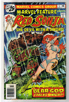MARVEL FEATURE #5, FN, Red Sonja She-Devil, Sword, 1975, more RS in store