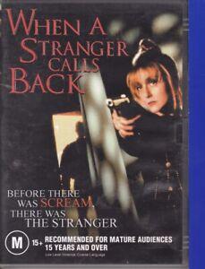 When A Stranger Calls Back (2I, DVD, 2006, Region ALL) Carol Kane