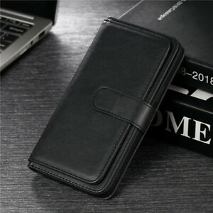 Book Wallet Leather Flip Cover Case For iPhone 12 Pro 11 X XR XS Max 6S 7 8 Plus