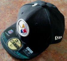 Pittsburgh Steelers Youth Fitted hat, by New Era 59Fifty / Black /Size 6 3/8,NWT