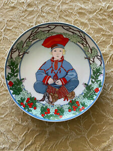 HEINRICH UNICEF PLATE #7 Children of the World Made in Germany Villeroy & Boch