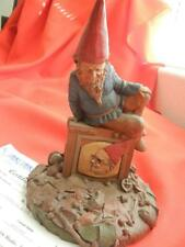 """Tom Clark Gnome Ltd Edition #44 with Coa 8.5"""" 1987 """"Telly-R"""" Hand Signed Ink"""