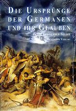 DIE URSPRÜNGE DER GERMANEN UND IHR GLAUBEN - Peter Feddersen Stuhr BUCH