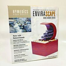 HoMedics Envirascape Mini Moon River Tabletop Relaxation Meditation Fountain
