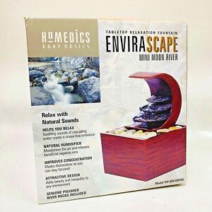 HoMedics Envirascape Fountain Mini Moon River Tabletop Relaxation Meditation