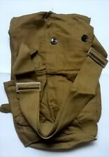 Old vintage Soviet union USSR CCCP gas mask bag