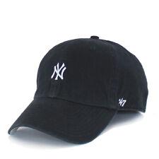 New York Yankees Hat Base Runner 47 Clean Up Mens Baseball Training Cap OSFA Blk
