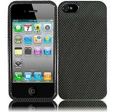 For Apple iPhone 5 5S SE HARD Protector Case Snap On Phone Cover Carbon Fiber