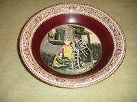 Antique Adams England Cries Of London Bowl-Old Chairs To Mend-Lovely Adams Bowl