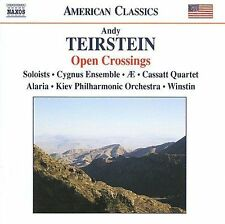 ANDY TEIRSTEIN: OPEN CROSSINGS NEW CD