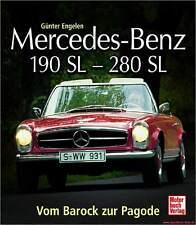 Fachbuch Mercedes-Benz 190 SL – 280 SL, Vom Barock zur Pagode, viele Bilder, NEU