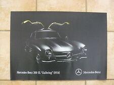 Mercedes-Benz 300 SL Gullwing (1954) - Poster Plakat 42 x 59 cm