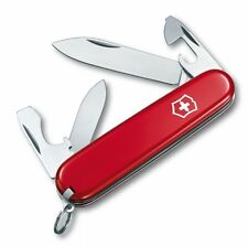 0.2503 VICTORINOX SWISS ARMY POCKET KNIFE RECRUIT RED 02503 VI53241 53241 NEW z
