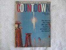 Countdown/Alvin B. Webb Jr. Magazine VG Race To The Moon, Men In Space