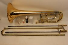 Yamaha BASS Trombone YBL421 G INTERMEDIATE with F Trigger and Case FAST SHIPPING