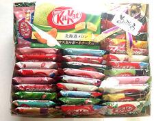 Japanese kitkat nestles mini kit kats caramel Banana sake oreo chestnut 35P