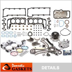 04-05 Dodge Durango Dakota Ram Jeep Liberty 3.7L Engine Rebuilding Kit MLS VIN K