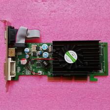 MQX GeForce 6200 512MB DDR2 AGP 8X Graphics Card VGA/S-VIDEO/DVI US Shipping
