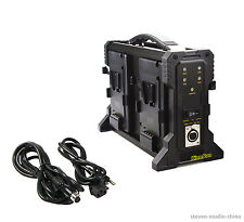 4-Channel Battery Charger Sony V-mount V-lock for 95/130/160/190/230Wh battery