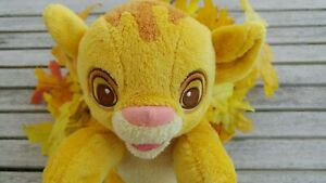Disney Lion King Babies Simba Plush Cub Stuffed Toy Doll 8""