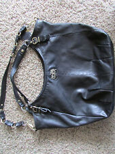 COACH MADISON BLACK LEATHER BAG PURSE HANDBAG EXTRA LARGE 15958 SOFT LEATHER