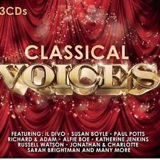 CD de musique classique vocales en coffret