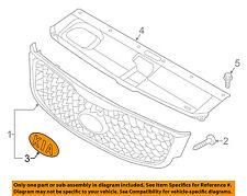 KIA OEM 16-17 Sorento Front Bumper-Emblem Badge Nameplate 863533W500