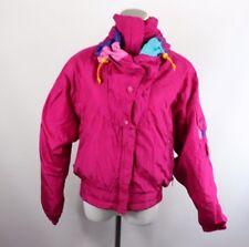 Vintage 80s Roffe Vêtements de Ski Femme 8 Sort Out Bloc Couleur Veste Parka
