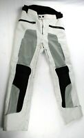 Revit Offtrack Motorbike Motorcycle Textile Trouser Black And Silver Size 46