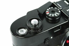 Fine Quality Small Flush Silver Metal Release Button for Leica Fuji X100 X-Pro1