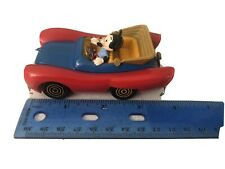 New listing Vintage Walt Disney Mickey Mouse Politoys Italy Topolino No 600 Toy Car