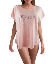 Victoria's Secret Sexy Pink T Shirt VS Logo Sleepwear Medium NWT