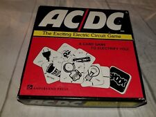 AC/DC The Exciting Electric Circuit Card Game 1975 Ampersand Press Vintage