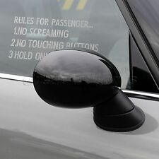 RULES FOR PASSENGER Auto Car Drift Window Bumper Laptop Decal Sticker Waterproof