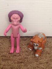 Battlestar Galactica Action Figure Lot Imperious Leader And Daggit Robo Pet