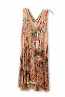 Anthropology Plenty by Tracy Reese Women's Pink Flower and Lace Dress XSP NWT