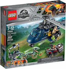 Lego Jurassic World Inseguimento in Elicottero Blue's Helicopter Pursuit 75928