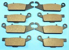 Front & Rear Brake Pads for Yamaha Grizzly 700 YFM7F Fi 4WD Hunter 2008-2015