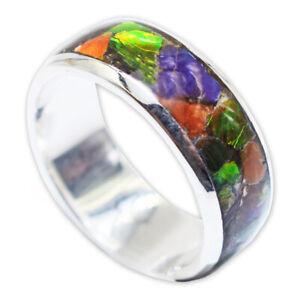 Ammolite Ring by Stones Desire