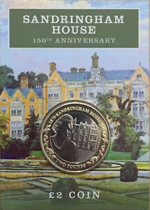 Brand New Jersey £2 2020 Sandringham House BU Two pounds Coin Rare BUNC