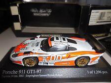 1/43 PORSCHE 911 GT1 #00 24H DAYTONA 2002 MINICHAMPS