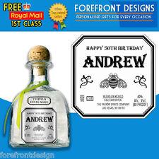 Personalizado Tequila Etiqueta De Botella, Ideal birthday/wedding/graduation Regalo