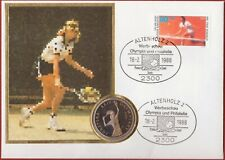 Poland 200 Zlotych 1987 1988 Tennis Olympic Games Pattern Proba Proof FDC