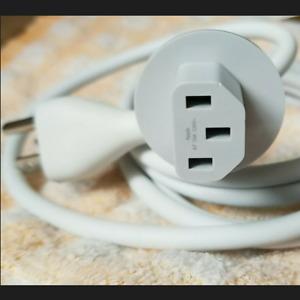 iMac 01-622-0390 6ft Power Cord Genuine Apple Cable A7 10A 125V Mac Plug Supply