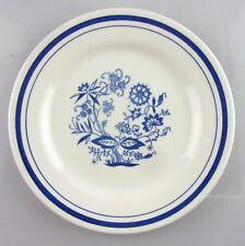assiette ancienne: décor floral. diam.: 18,5cms. oxford brazil.