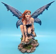 Crouching Fairy Mystical Large 7� Figurine